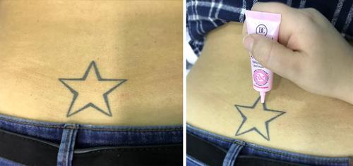 Cobrir Tatuagem - Passo 1 - Aplicação de Satin Make-up Base